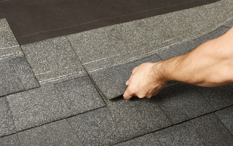 asphalt shingle roof repair and replacement services in Jacksonville, FL